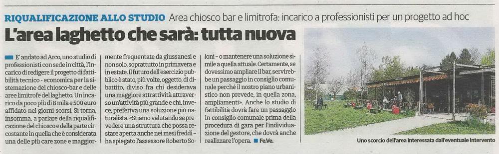 """Articolo da """" Il Cittadino - Brianza nord """" del 13 Gennaio 2018"""